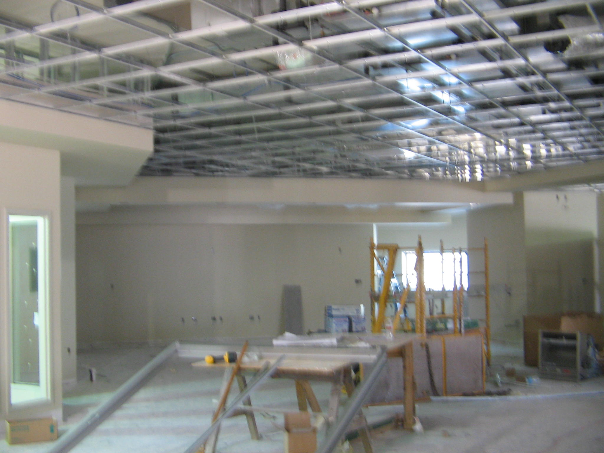Acoustical Ceiling  Intallation